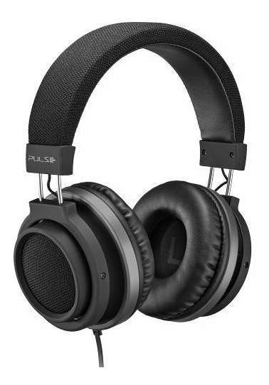 Headphone Fone Ouvido Pulse P2 Large Preto Pulse Ph226
