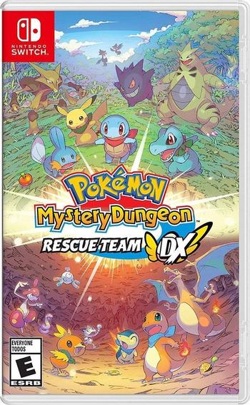 Pokémon Mystery Dungeon Dx Rescue Team Midia Física