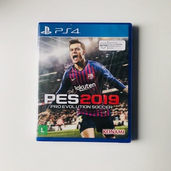 Pes 19 Ps4 Pro Evolution Soccer 2019 Midia Fisica