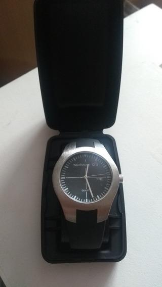 Relógio Exclusivo Credicard Citibank Com Estojo Nunca Usado