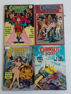 Hq Camelot 3000 Abril Dec. 80 Saga Completa Formatinho