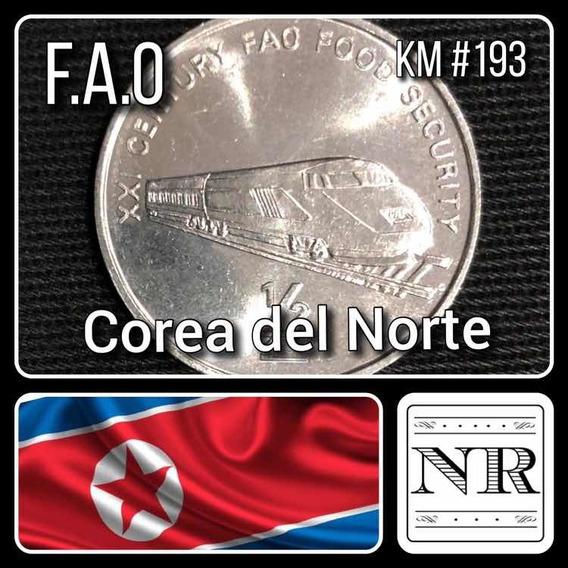 Corea Del Norte - 1/2 Chon - Tren - Km #193 - F. A. O.