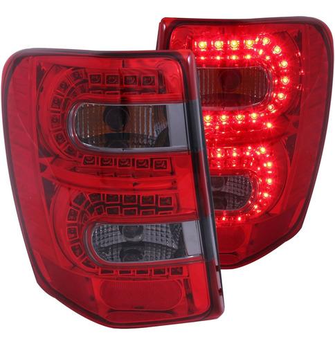 311180 Rojo / Humo Led Luz Trasera Para Jeep Grand Cher...