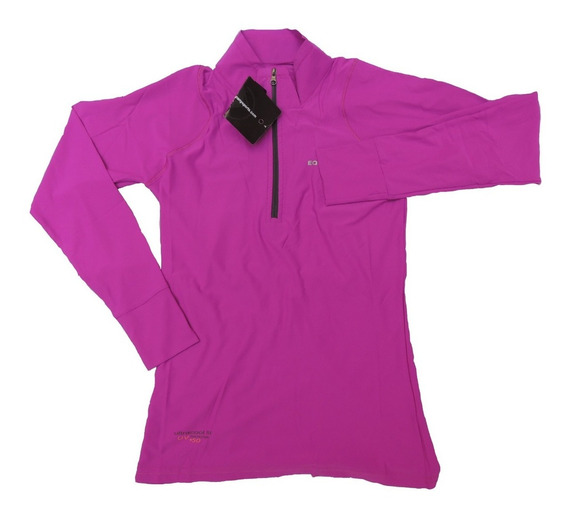 Remera Dama Mujer Dry Fit Proteccion Filtro U.v. Gimnasia Gym Trekking Running Sol Playa Agua Quilmes
