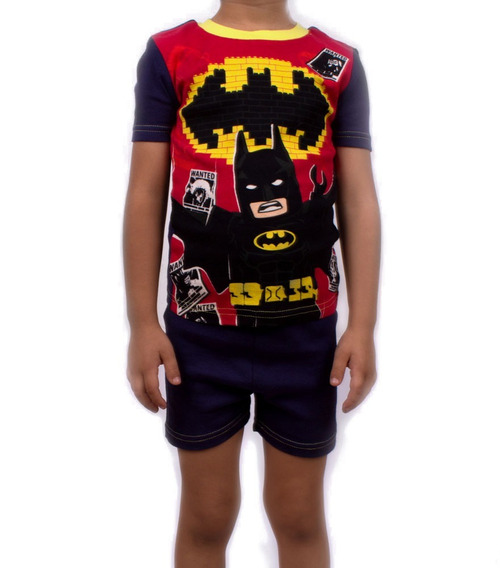 Pijama Lego Para Niño De Batman Forever The Wanted Rojo