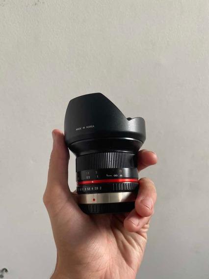 Lente Rokinon 12mm F2 Mft