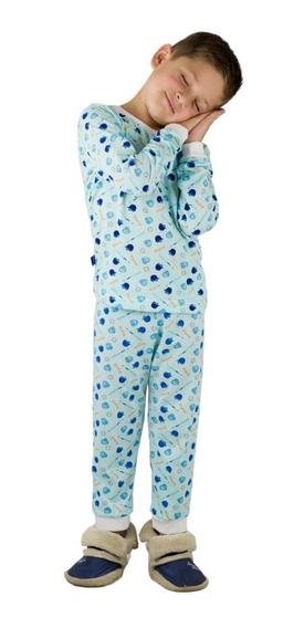 Pijamas Niños Kaplers Algodon Estampadas Detal Mayor Oferta