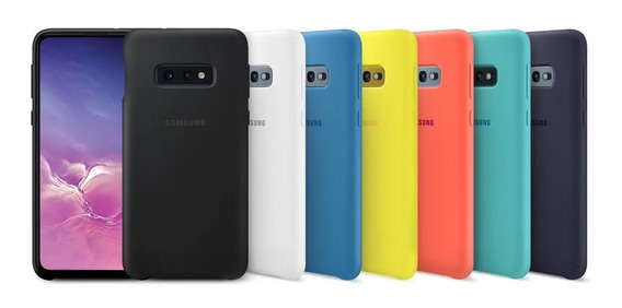 Funda Samsung Para S10e Silicone Cover Protective G970