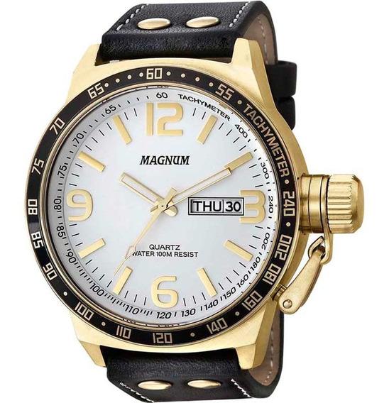 Relógio Magnum Masculino Analóogo Grande Militar Ma31542b