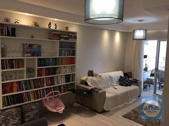 Apartamento Com 3 Dormitórios À Venda, 86 M² Por R$ 510.000,00 - Marapé - Santos/sp - Ap3499