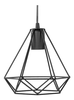 Lámpara Minimalista Vintage Diamante