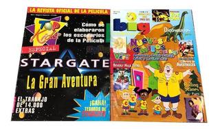 Las 2 Revistas Big Magazine Y Top Kids Especial Stargate