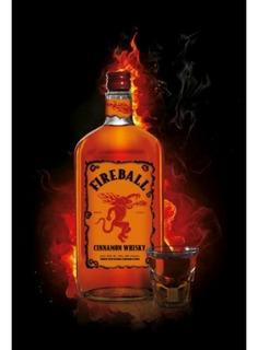 Whisky De Canela Fireball The Original 1 Litro
