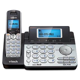 Vteds6151 - Vtech Ds6151 Dect 6.0 De 2 Líneas De Teléfono In
