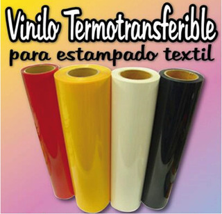 Vinilo Termotransferible Flex Para Estampar 0,50 X 1 M