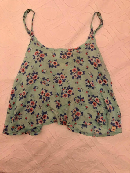 Remera Top Hollister Talle S
