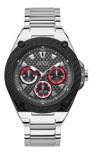 Reloj Guess Legacy Caballero W1305g1 Plata