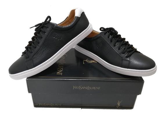 Zapatillas Yves Saint Laurent Hombre Cuero Oferta Original