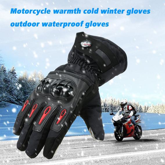 Luvas Pro-biker Inverno Pro-biker Moto Quente À Prova D'