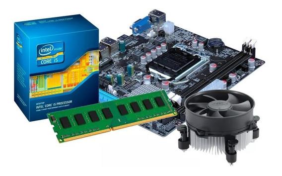 Kit Processador I5 3570 + Placa Mãe H61 + 8gb Ddr3 Promoção