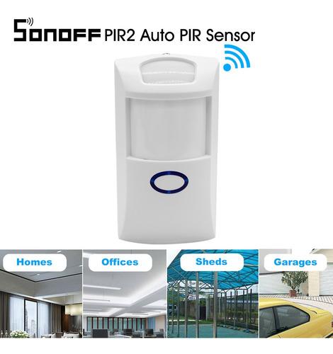 Imagen 1 de 6 de Sonoff Pir2 Sensor Pir Automático Detector De Movimiento