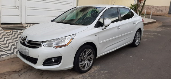 Citroen C4 Lounge 1.6 Turbo 2014 Impecavel Todo Original