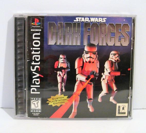 Ps1 - Star Wars Dark Forces- Original Sem Riscos