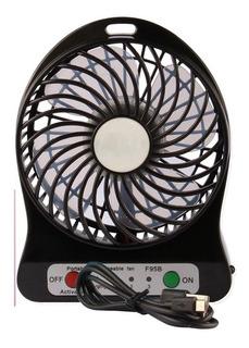 Ventilador Portatil Recargable Alta Velocidad Usb