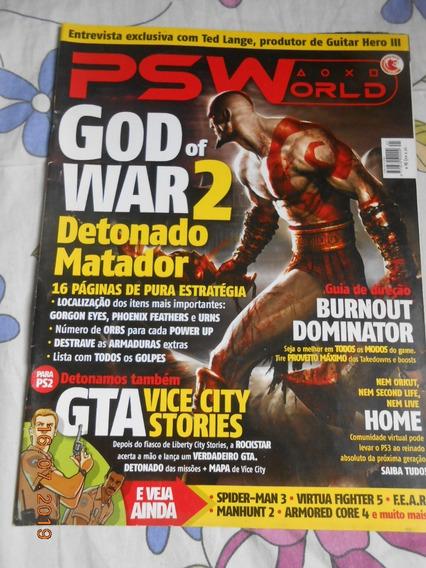 Revista Psworld Playstation - Ed. 41 - Com Pôster God Of War
