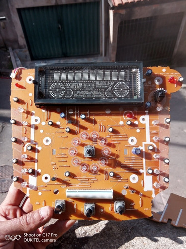Imagem 1 de 5 de Placa Frontal Mini Hi-fi System  Mct704