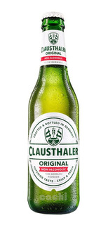 Cerveza Alemana Sin Alcohol Clausthaler Botella 330ml