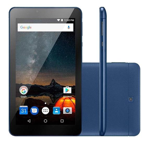 Tablet Multilaser M7s Plus Nb274 Tela 7.0 8gb Quad Core Wifi