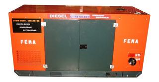 Fema Generador Trifásico Diesel Insonorizado 15kw 380 Volt