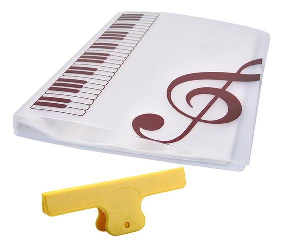 Magideal 40 Folha A4 Música Livro Ponto Folders Salvar Docu