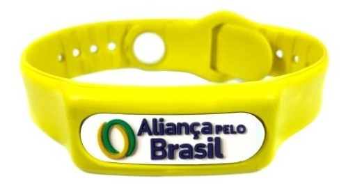 Pulseira Do Equilíbrio Aliança Pelo Brasil C/ Infravermelho