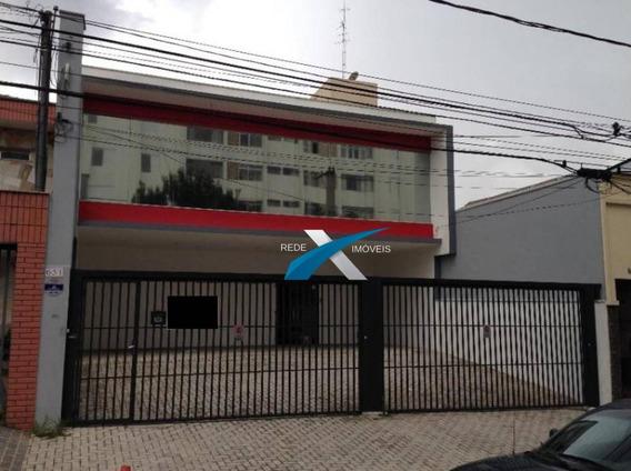 Galpão Para Alugar, 480 M² Por R$ 13.800/mês - Ipiranga - São Paulo/sp - Ga0058