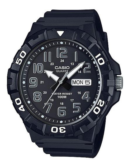 Reloj Casio Hombre Mrw-210h Sumergible Doble Fecha