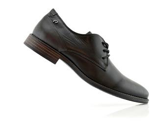 Zapatos Hombres Vestir Cuero 124536-03 Pegada Luminares