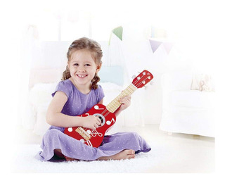 Ukelele Hape Instrumento Musical De Juguete