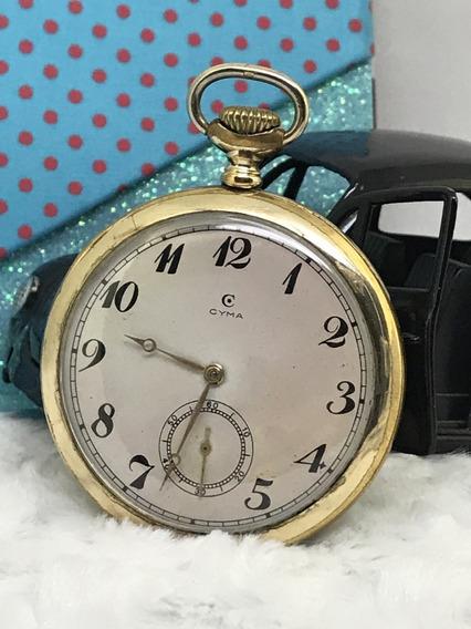 Cyma Em Ouro Plaquê 54mm - Conheça Nossos Relógios
