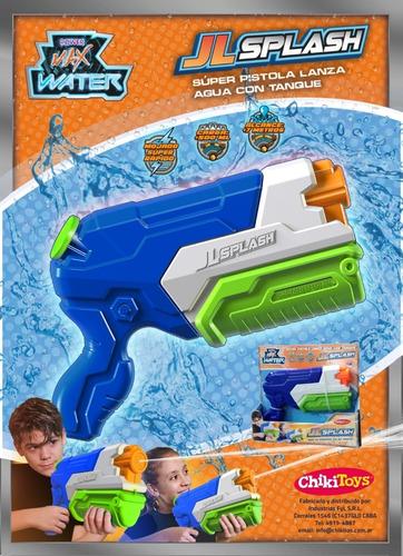 Pistola De Agua Power Max Water Jl Splash Tipo Nerf 3260 Srj