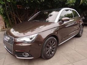 Audi A1 Tfsi 1.4 2012 Marrom Gasolina