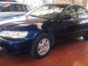 Honda Accord 2001 3.0 Ex-r Aut. Sedan V6 Piel Abs Qc Cd