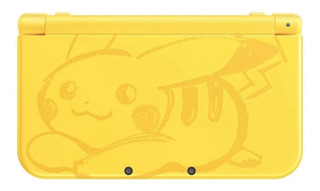 Nintendo New 3DS XL Pikachu Yellow Edition amarillo