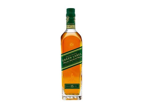 Imagen 1 de 4 de Johnnie Walker Green Label Blended Scotch 15 escocés 700 mL