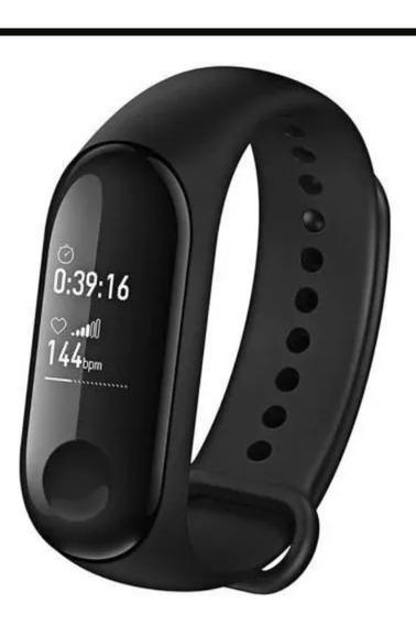 Relógio Smart M3 Batimentos Cardíacos Pressão Arterial