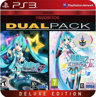 Hatsune Miku Project Diva F Pack Ps3 No Codigo