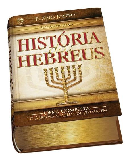 Livro História Dos Hebreus Flávio Josefo Cpad
