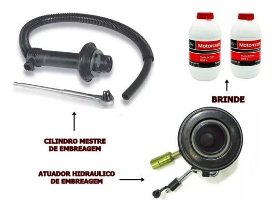 Kit Cilindro Mestre Embreagem + Atuador Ranger 1998/...