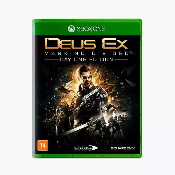 Deus Ex Mankind Divided Ed. Day One Xone Nacional Lacrado Rj